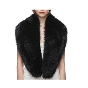 Dikoaina Extra Large Women's Faux Fur Collar for W